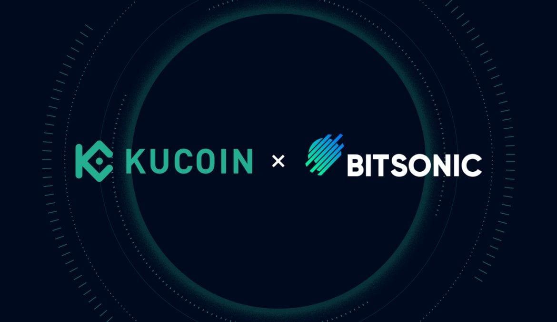 Exchange platforms, Kucoin and BitSonic Announce Partnership