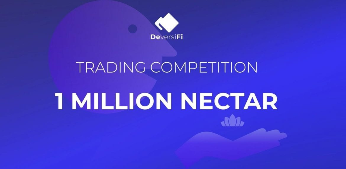 DeversiFi Launch 1 Million NEC Trading Competition