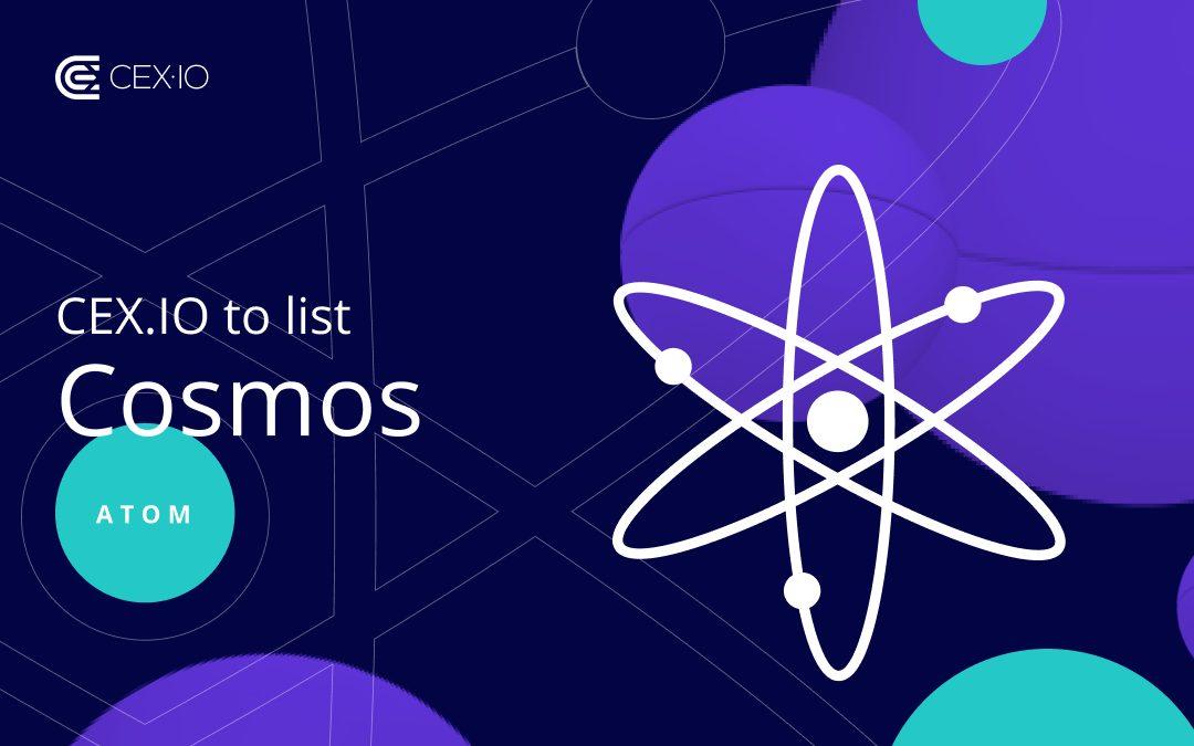 CEX Latest Platform to List Cosmos (ATOM)