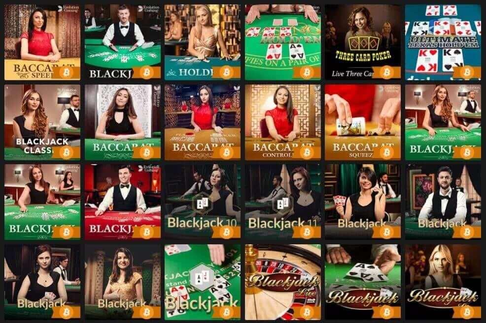 Fastpay Casino - Blackjack Games