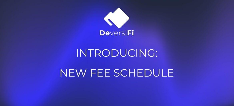 DeversiFi Unveil New Fee Structure