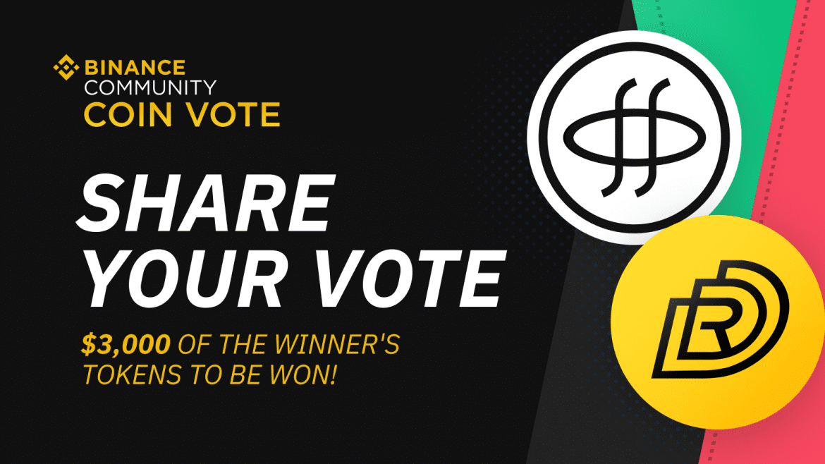Vote For New Binance Listing and Win Tokens Worth $300