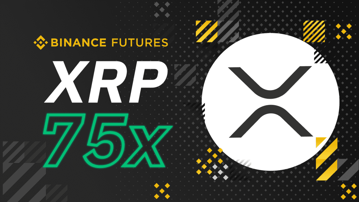 Binance Futures Adds XRP/USDT Contracts with 75x Leverage