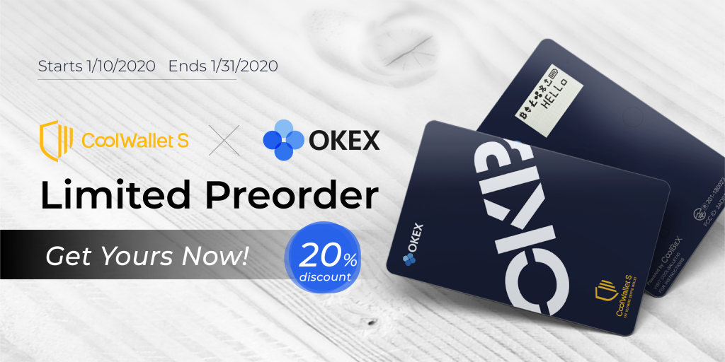 CoolWallet S Now Supports OKB token