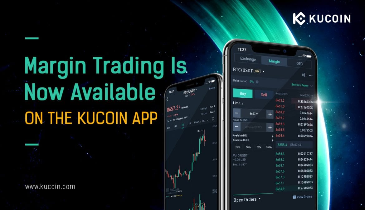 KuCoin Now Offers Margin Trading Support On Mobile App