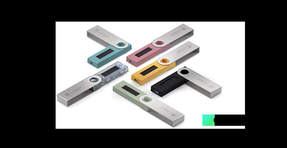 Ledger Nano S Hardware Brieftasche Farben