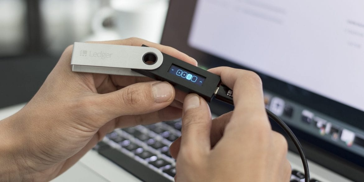 Ledger Nano S Device