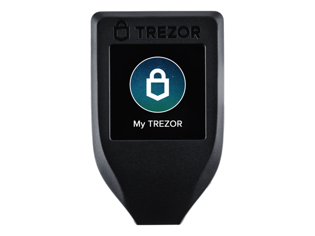 Trezor Model T Wallet (Black)