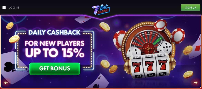 7bitcasino bonus with dice banner