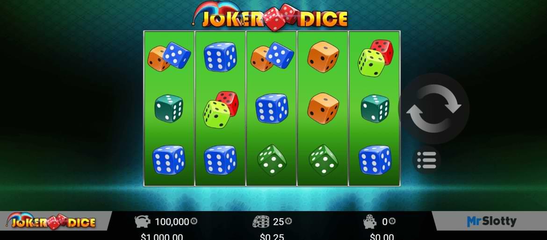7bit casino joker dice slot
