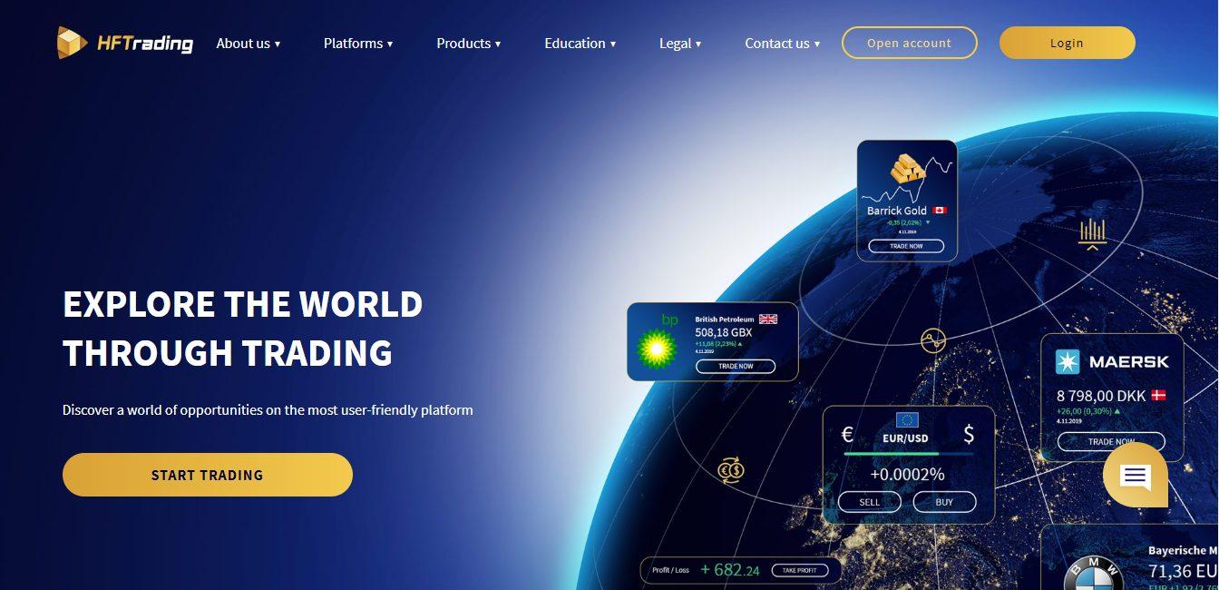 HFTrading Website