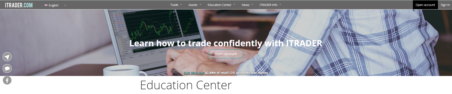 ITRADER - Learn how to trade