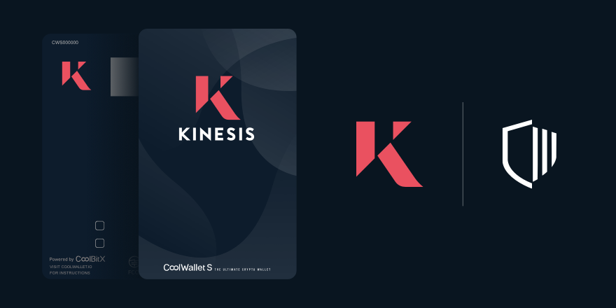 CoolWallet Confirm Kinesis Partnership