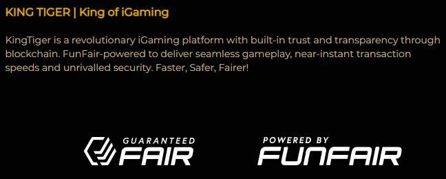 KingTiger Casino Review - Transparency