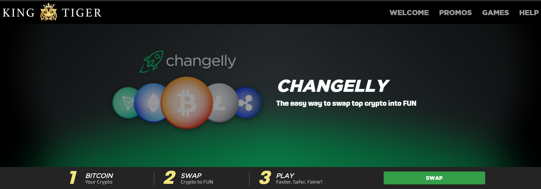 KingTiger Review - Changelly