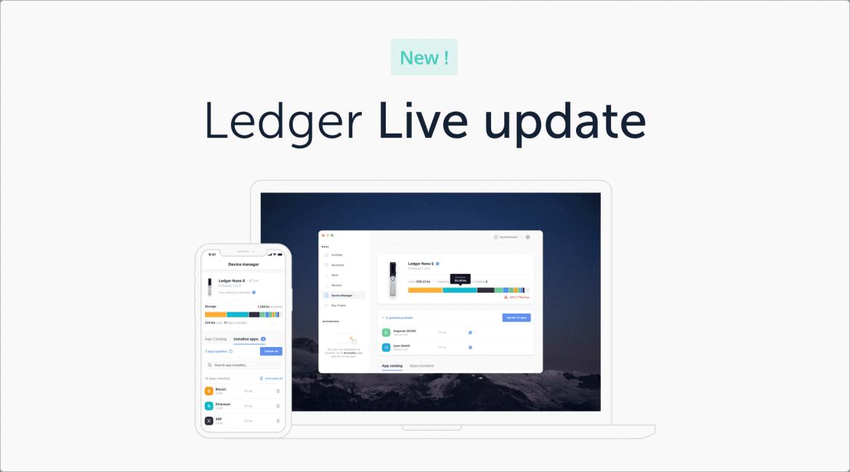 Ledger Launch Live Manager Version 2.0