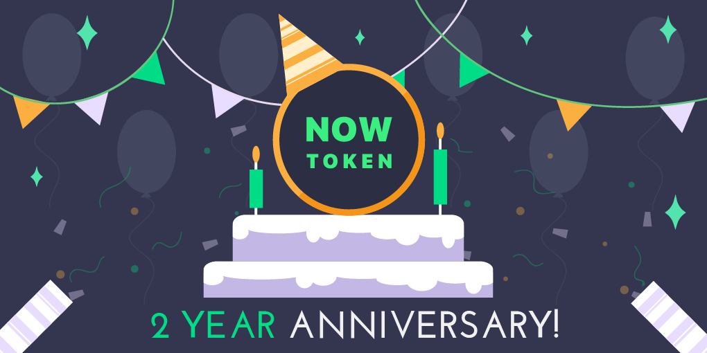 NOW Token Celebrates 2nd Birthday With Giveaway