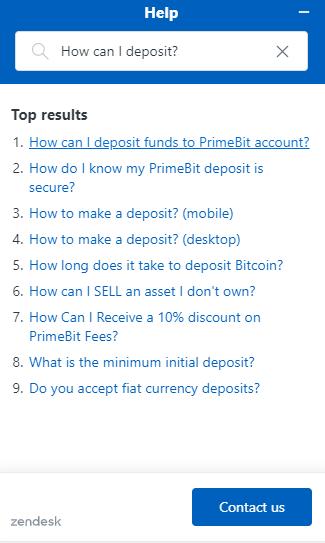 PrimeBit - Support