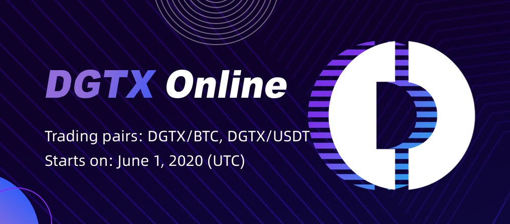 DGTX To Go Live on CoinEx with Trading Event