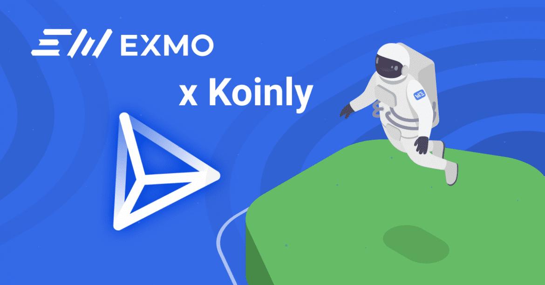 EXMO announce Koinly Partnership
