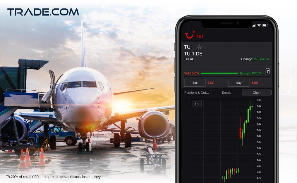 Trade.com Highlight Airline Stock Potential