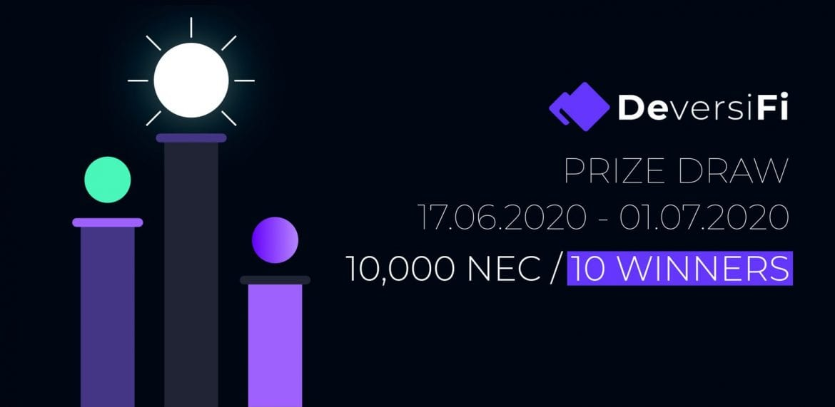 1000 Nec Available in New DeversiFi Promotion