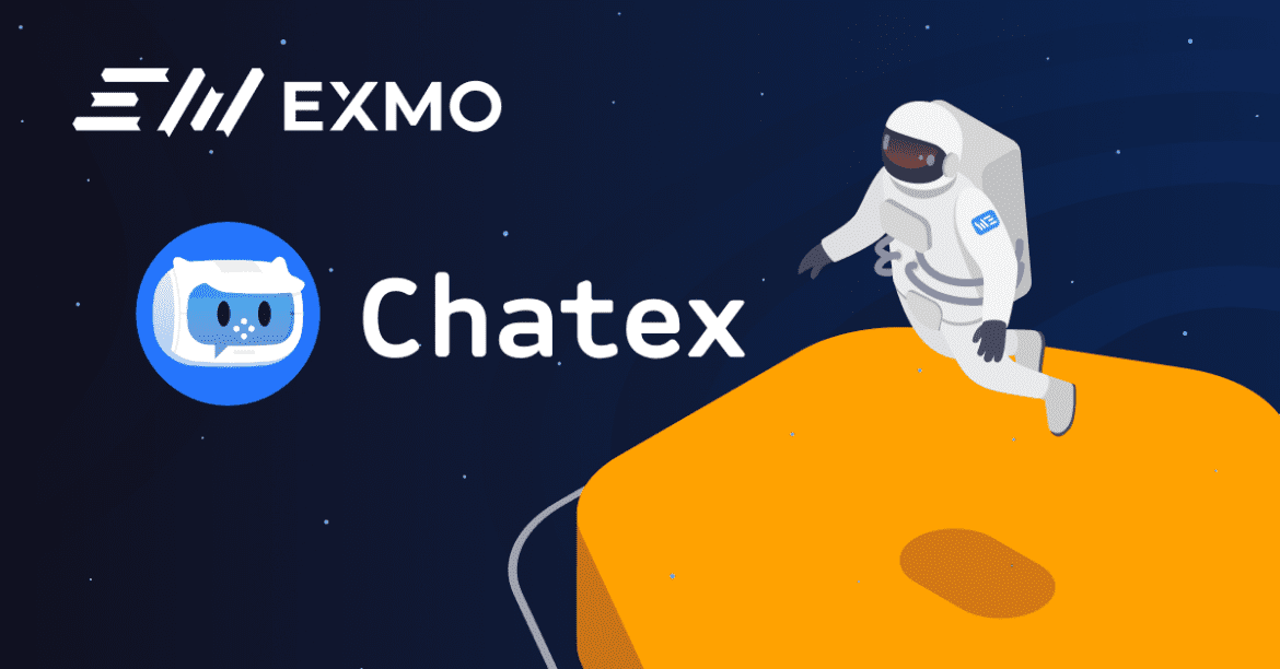 EXMO Begin Partnership with Chatex