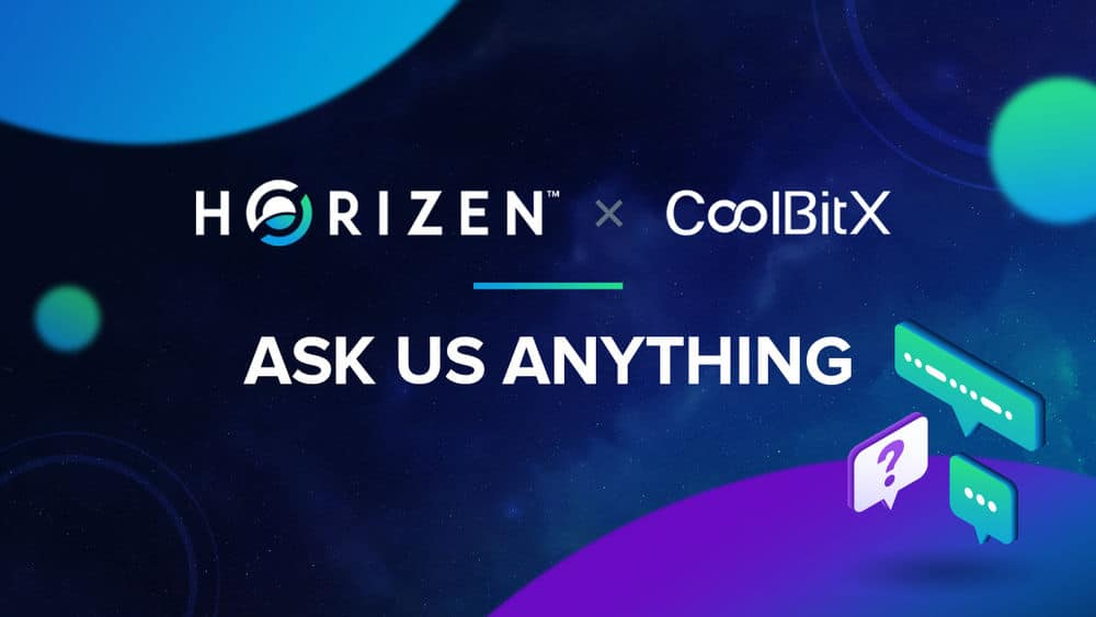 Read the CoolBitX and Horizen AMA