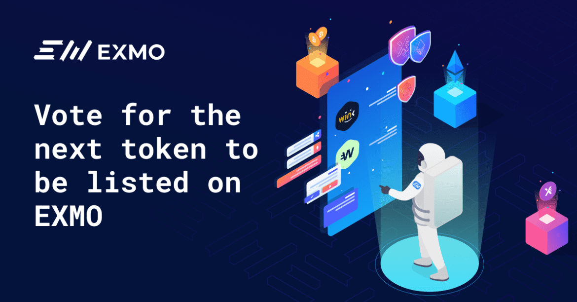 Vote for EXMO's Latest Listing