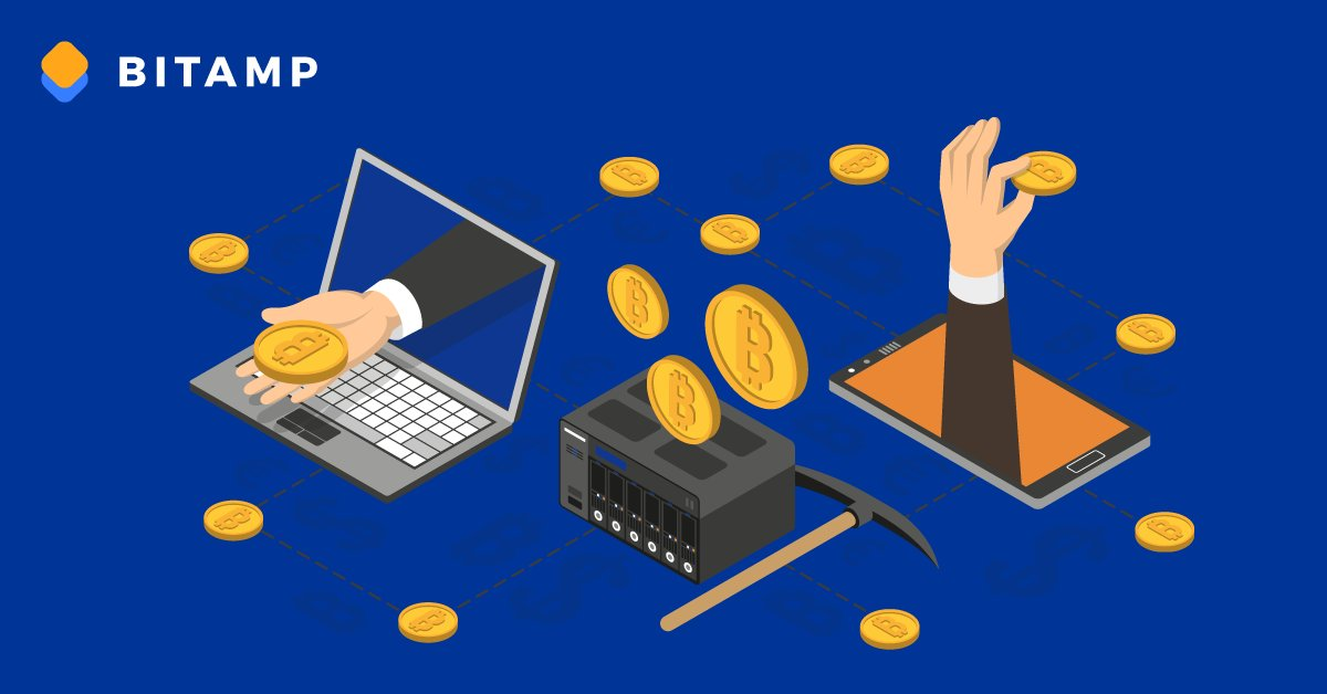 Bitamp Send and Receive Bitcoin