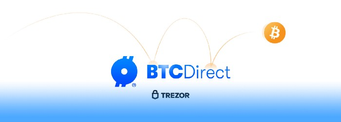 BTC Direct Now Integrated on Trezor