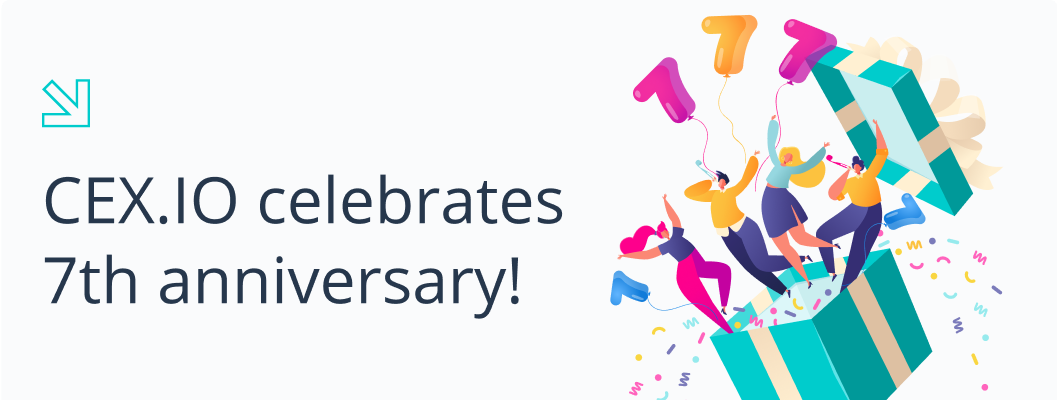 Celebrate CEX 7th Year Anniversary with Cashback