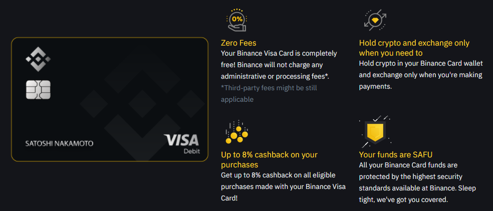 Binance Visa Cards Are Now Available in Europe