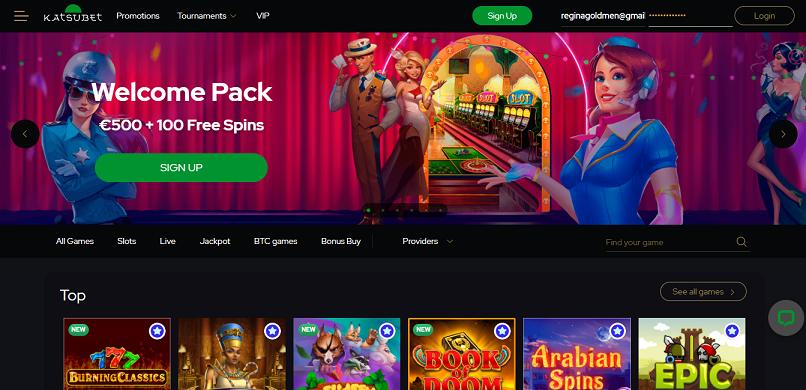 KatsuBet Casino Review