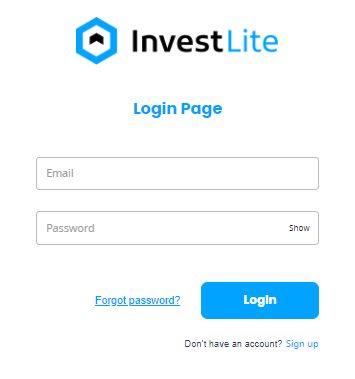 InvestLite Login