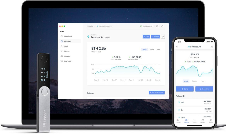 Ledger Nano X Bitcoin Wallet