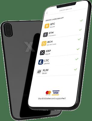 eToro mobile wallet app