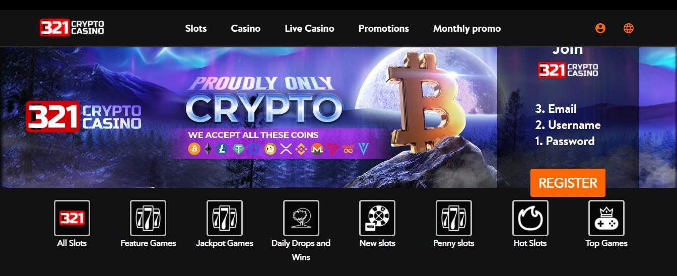 321 Crypto Casino Review