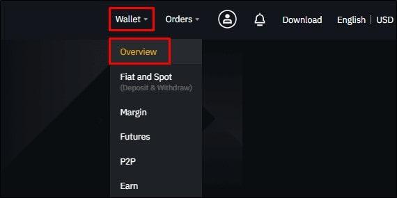 Binance wallet