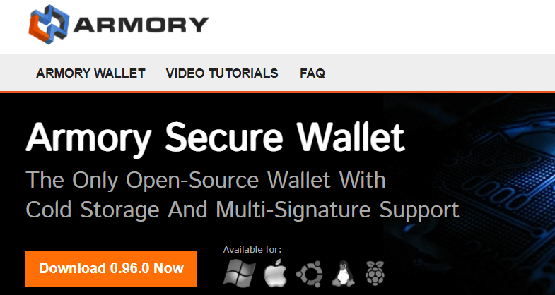 Armory Wallet