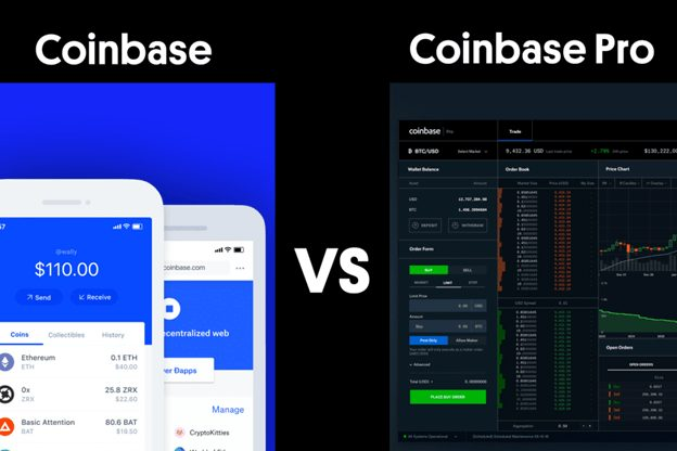 Coinbase Vs Coinbase Pro: Which one to choose?