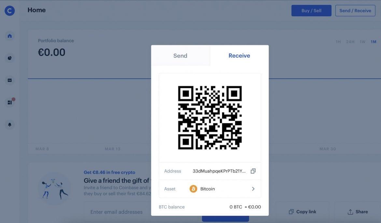 Bitcoin Address Coinbase