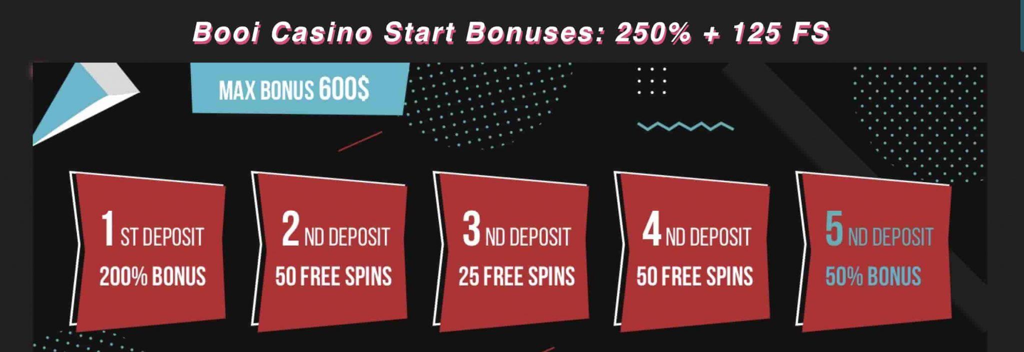 Booi Welcome Bonus