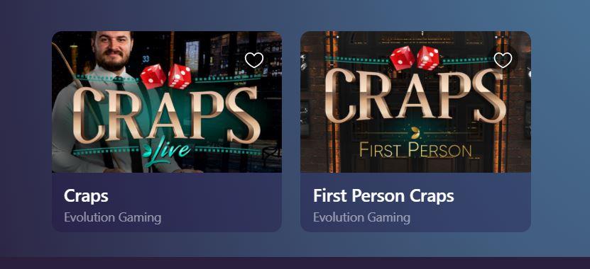 casinoin craps
