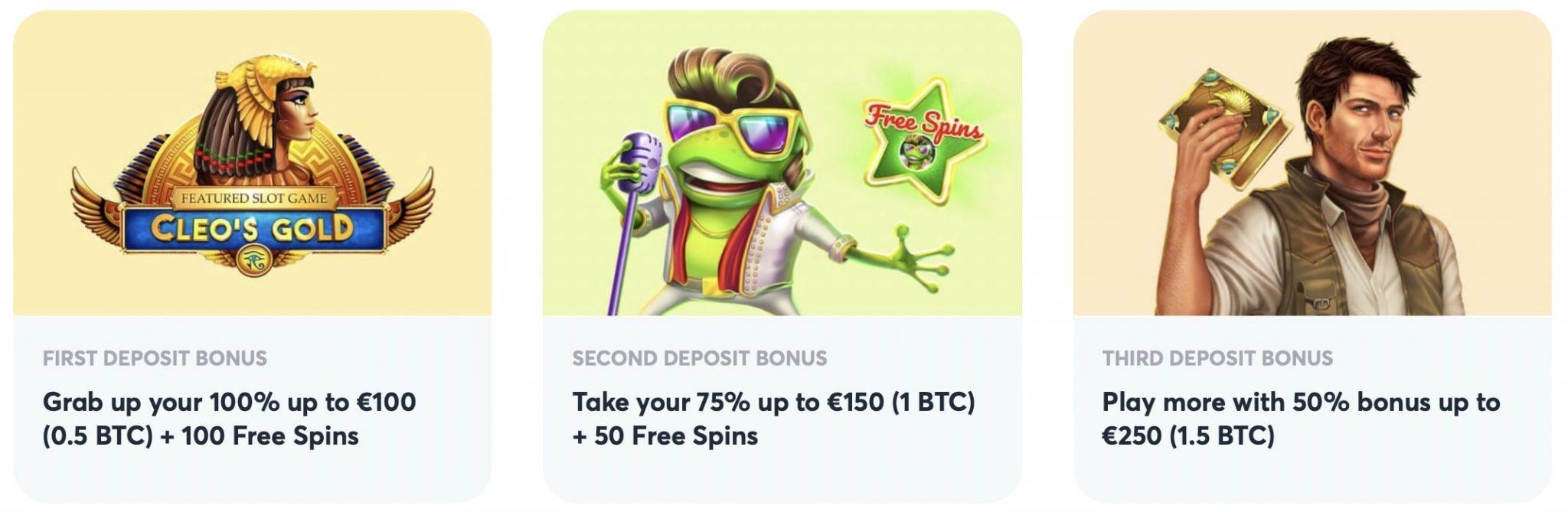 Goodman Casino Welcome Bonus