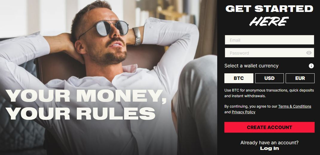 No Limits Casino landing page for review