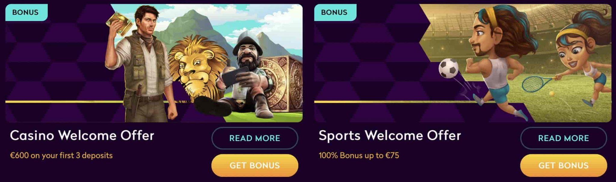 Casino360 Welcome Bonus