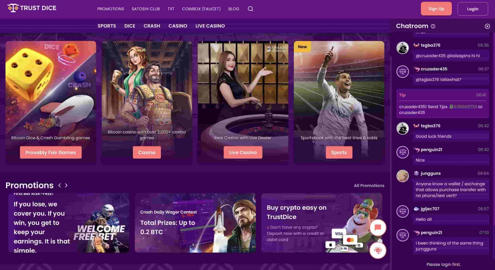 TrustDice Casino Review