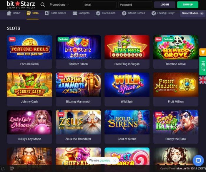 bitstarz casino slotspiele