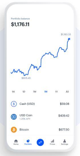 Coinbase – Am besten für den Handel